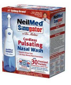 Máy rửa mũi NeilMed (pin) (30 gói muối)